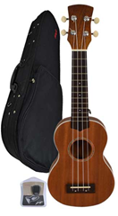 Soprano Ukulele, Case and Tuner by B