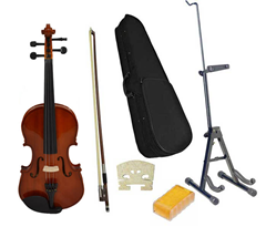 Full Size Violin and Stand Pack by S
