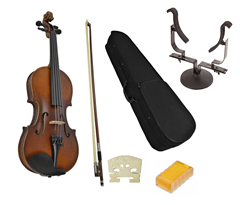 Student 1/4 Violin with Stand by Soten