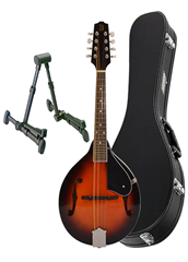 Mandolin A Style, Hard Case and Stan