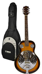 Resonator Guitar and Gig Bag by Bryce