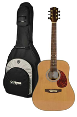 Acoustic Guitar BFG088S and Gig Bag by
