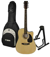 Cutaway Acoustic Guitar BFG229C, Stand%2