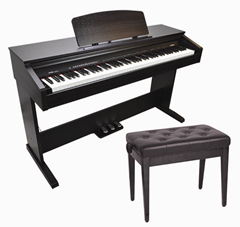 Digital Piano and Bench