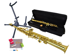 Saxophone 3, Bag and Stand