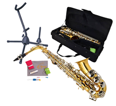 Saxophone 4, Bag and Stand