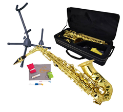 Saxophone 5, Bag and Stand
