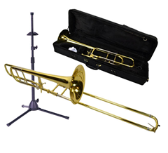 Trombone 3, Bag and Stand