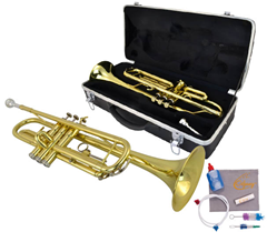 Trumpet 4 and Bag