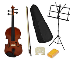 Student 3/4 Violin and Music Stand by%