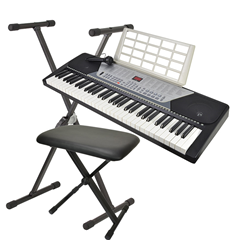 61 Key Electronic Keyboard with Stand