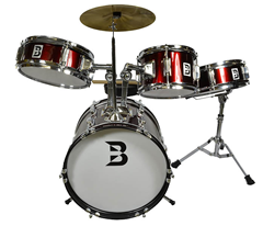 Bryce Kids Drum Set 4 Piece