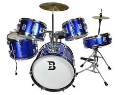 Bryce Junior Drum Set 5 Piece