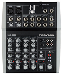 Hill Audio 6 Channel Studio Mixer