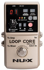 NUX Loop Core Deluxe 24-bit Looper Ped