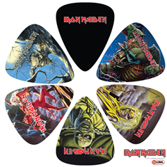 Iron Maiden 6 Guitar Pick Pack Two t