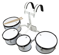 Bryce 4 Piece Marching Drum Set