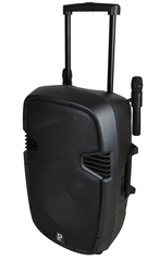 Portable Battery 15 PA System, Incl