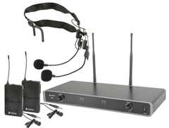 Dual UHF Wireless Beltpack System