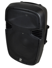 15 Powered Speaker 500 watts With M