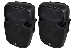 Pair of 15 Active Speakers 1000 Wat