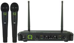 Dual Handheld UHF Microphone System by%2