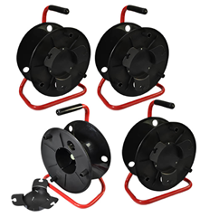 Cobra Empty Cable Reel Red Frame - Set of 4