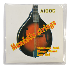Mandolin String Set Coated Copper Alloy Wound with Steel Core by Sotendo
