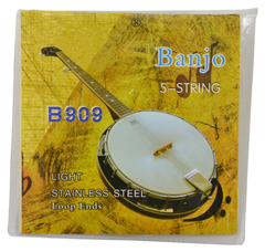 Banjo 6 String Set Coated Copper Alloy