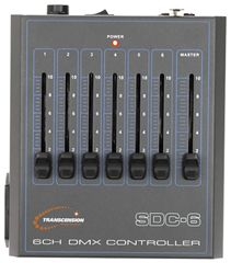 Compact 6 Channel DMX Controller