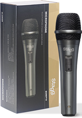 Stagg SDMP10 Dynamic Microphone and Cabl