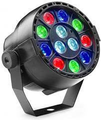 Battery Powered 12 x 1w RGBW LED Par