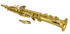 Straight Body Soprano Saxophone & Case