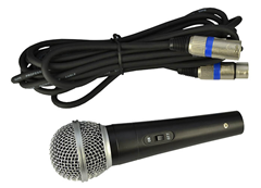 Dynamic Vocal Microphone Supplied With C