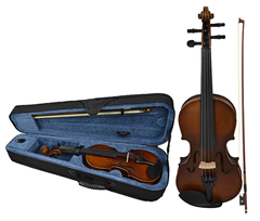 Student Violin 1/4 Size and Case by