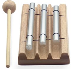 Table Chime Bar Set With Beater
