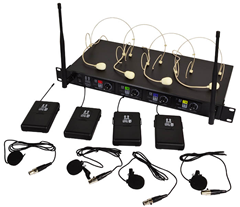 Hill Audio 4 Way Wireless Beltpack Mic