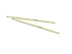 DIMAVERY Marching drum sticks, maple, white