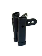 DIMAVERY Drumstick Clamp Holder,black