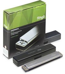 Stagg Tremolo Diatonic Harmonica in C