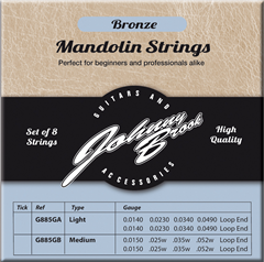 Bronze Mandolin Strings Medium Gauge