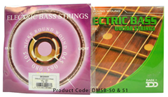 Dimavery String Set for Electric Bass
