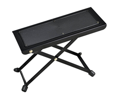 Metal Footstool Black