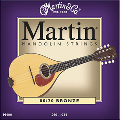 Martin M400 Bronze Mandolin Strings