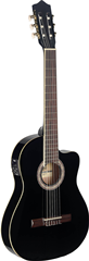 Stagg C546TCE BK Electro Acoustic Guitar
