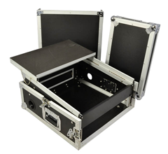 Cobra 2U Mixer Case with Laptop Shelf